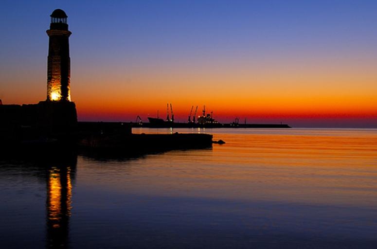 Rethymnon-sunset